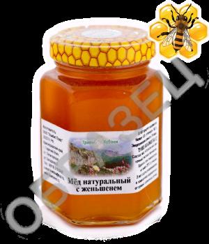 Мёд с женьшенем 350 ml