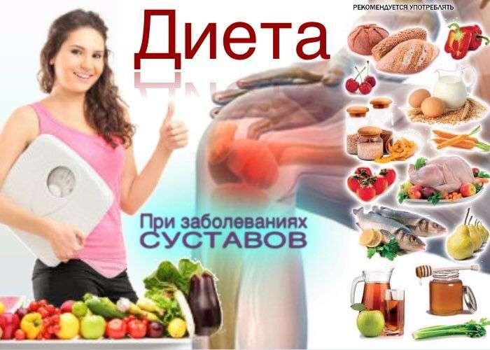 диета при болях в суставах