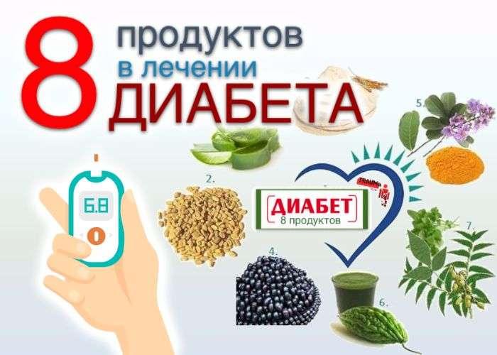продукты в лечении диабета