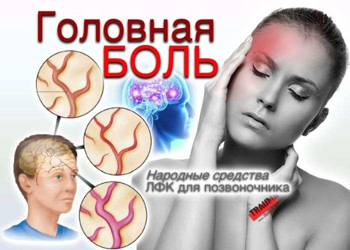 ЛФК для шейного отдела позвоночника при головной боли