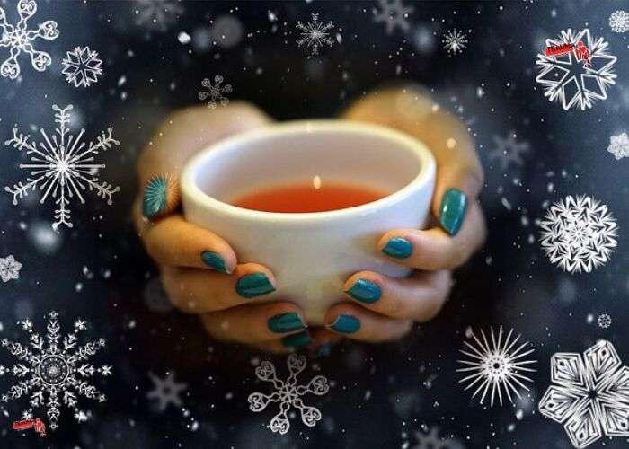 Какой чай лучше помогает согреться, когда за окном свирепствует зима?