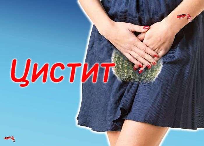 Почему при цистите болит низ живота